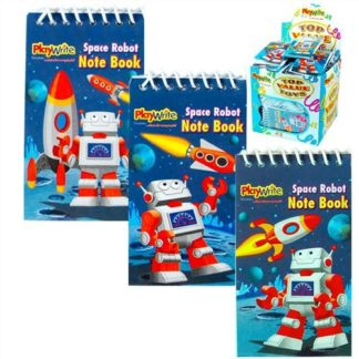 Space Robot Notebook