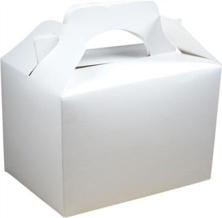 White Party Food Gift Box