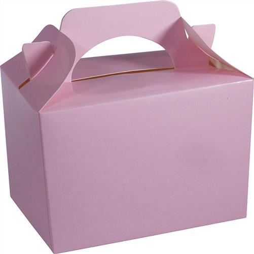 baby pink food gift box