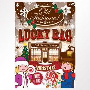 Old Fashioned Christmas Lucky Bag