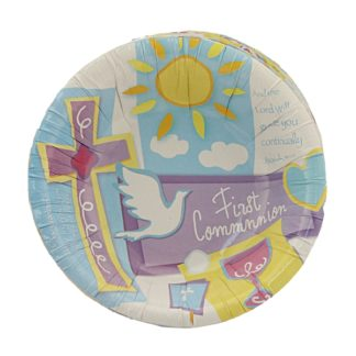 First Communion Paper Bowl