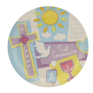 First Holy Communion Party Plates