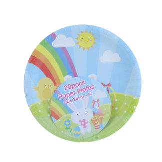 Easter Party Plates