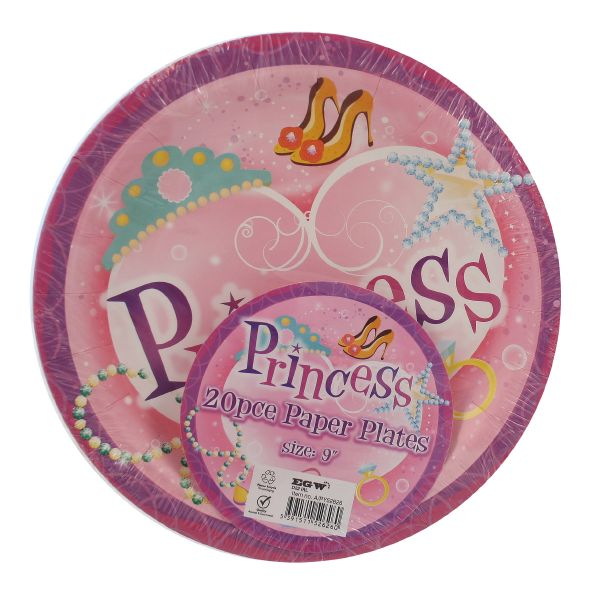 Princess Party Plates \u2013 PartyBag.ie