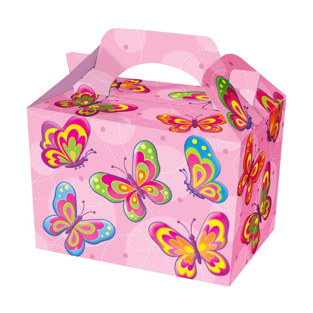 Butterfly themed party food box
