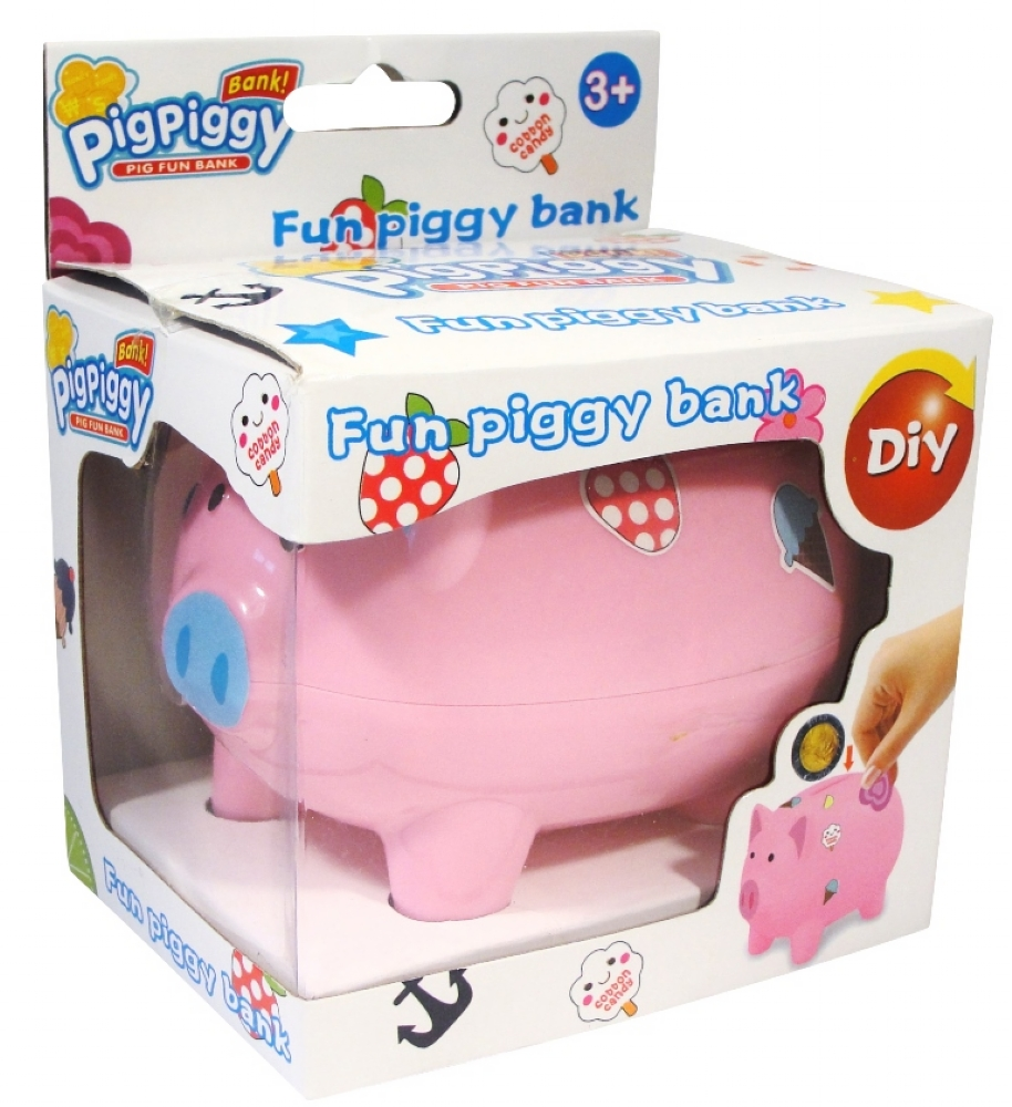 decorate your own piggy bank partybag ie decorate your own melissa amp doug craft amp activities