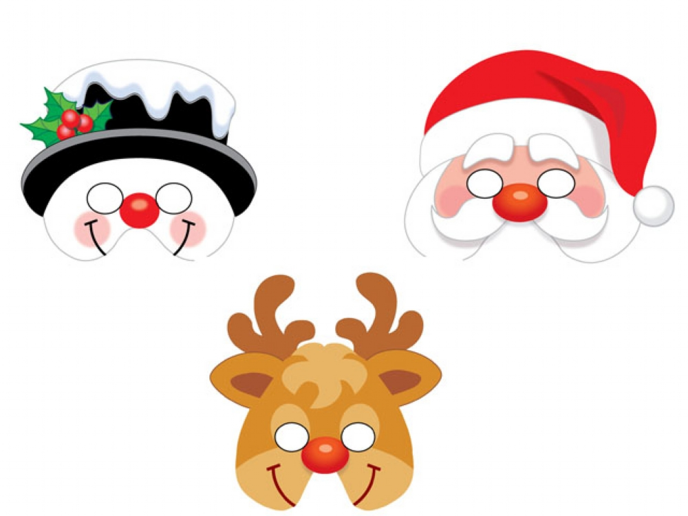 Christmas Party Masks