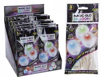Magic Glo LED Light Up Balloons