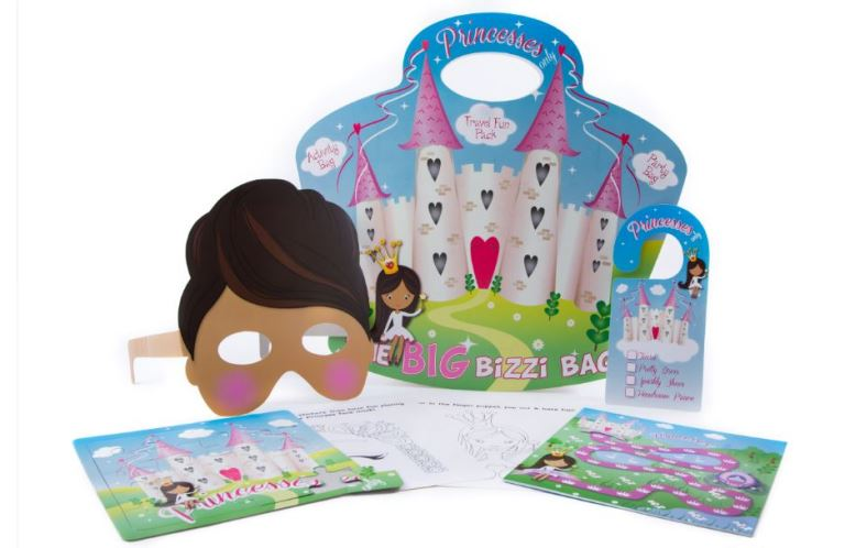 Princess Activity Pack - Big Bizzi Bag