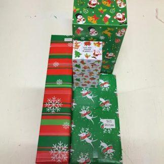 Wrapped Santa Grotto Toys