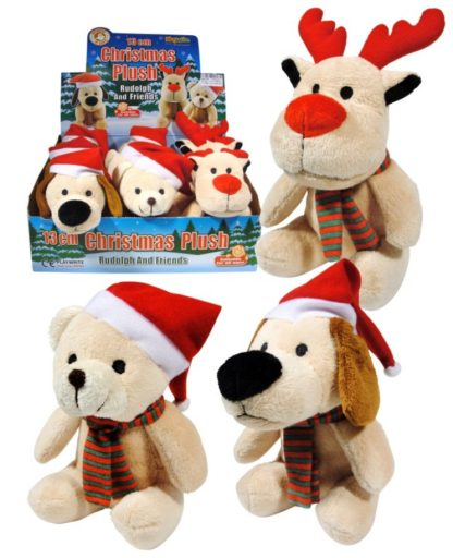 Plush Christmas Friends